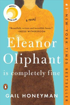 Featured title Eleanor Oliphant is Completely Fine