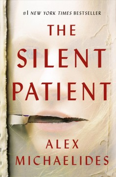 book jacket for The Silent Patient