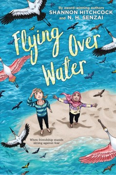 Featured Book Flying Over Water