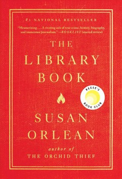 Featured title The Library Book