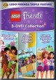Lego friends. 3-DVD collection.