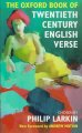 The Oxford book of twentieth-century English verse
