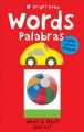 Words = Palabras.