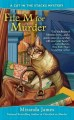 File M for murder : A cat in the stack mystery