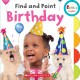 Find and point birthday.