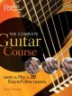 The complete guitar course : learn to play in 20 easy-to-follow lessons