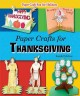 Paper crafts for Thanksgiving