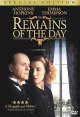 The remains of the day (dvd)