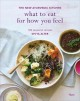 What to eat for how you feel : the new Ayurvedic kitchen -- 100 seasonal recipes