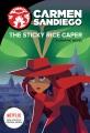 Carmen Sandiego. The sticky rice caper.