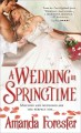 Book cover of A wedding in springtime