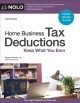 Home business tax deductions : keep what you earn