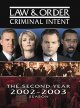Law & order: Criminal intent. The second year, 2002-2003 season