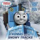Thomas and the snowy tracks.