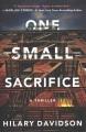 One small sacrifice