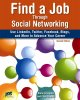 Book cover of Find a Job through Social Networking