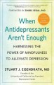 When antidepressants aren