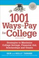 1001 ways to pay for college.