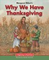 Margaret Hillert's Why we have Thanksgiving