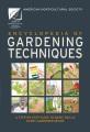 Encyclopedia of gardening techniques