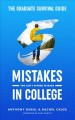The graduate survival guide : 5 mistakes you can