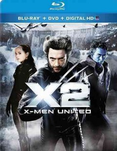 X2 [Blu-ray + DVD combo] X-men united cover image