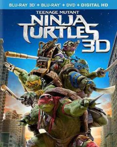 Teenage Mutant Ninja Turtles [3D Blu-ray + Blu-ray + DVD combo] cover image