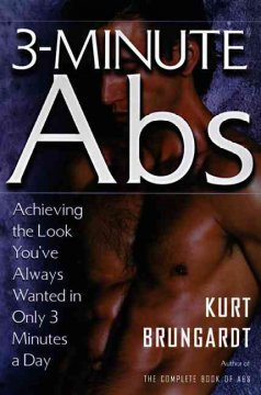 3-minute abs : isolation, definition, intensity, focus cover image
