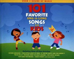 101 favorite sing-a-long songs for kids cover image