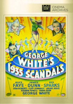 George White's 1935 scandals cover image