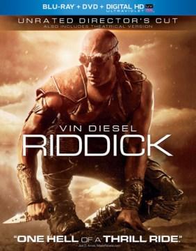 Riddick [Blu-ray + DVD combo] cover image