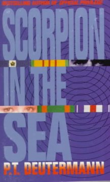 Scorpion in the sea cover image