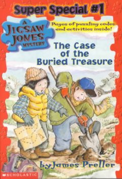 The case of the buried treasure cover image
