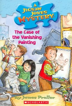 The case of the vanishing painting cover image