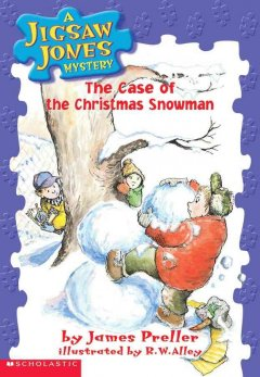 The case of the Christmas snowman cover image