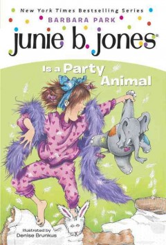 Junie B. Jones is a party animal cover image