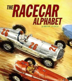 The racecar alphabet cover image