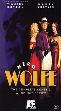 Nero Wolfe. The complete classic whodunit series cover image