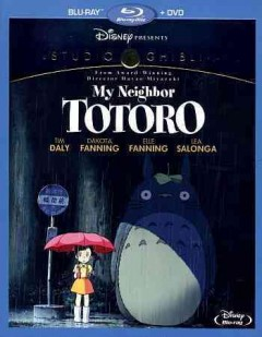 Tonari no Totoro [Blu-ray + DVD combo] My neighbor Totoro cover image