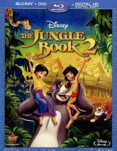 The jungle book 2 [Blu-ray + DVD combo] cover image