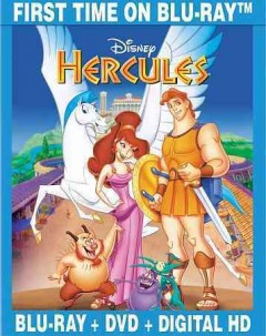 Hercules [Blu-ray + DVD combo] cover image