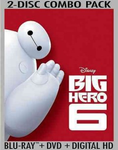 Big hero 6 cover image
