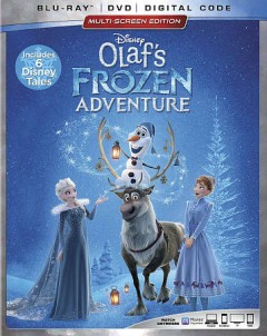 Olaf's frozen adventure [Blu-ray + DVD combo] cover image
