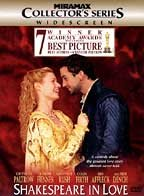 Shakespeare in love cover image