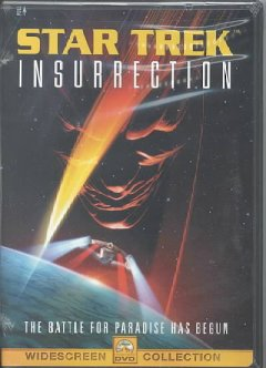 Star trek insurrection cover image