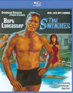 The swimmer [Blu-ray + DVD combo] cover image