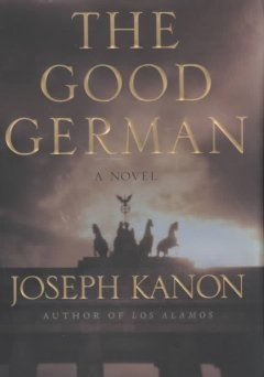 The good German cover image