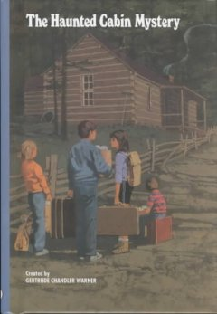 The haunted cabin mystery cover image