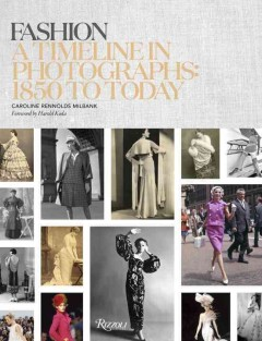 Fashion : a timeline in photographs : 1850 to today cover image