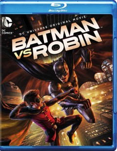 Batman vs Robin [Blu-ray + DVD combo] cover image